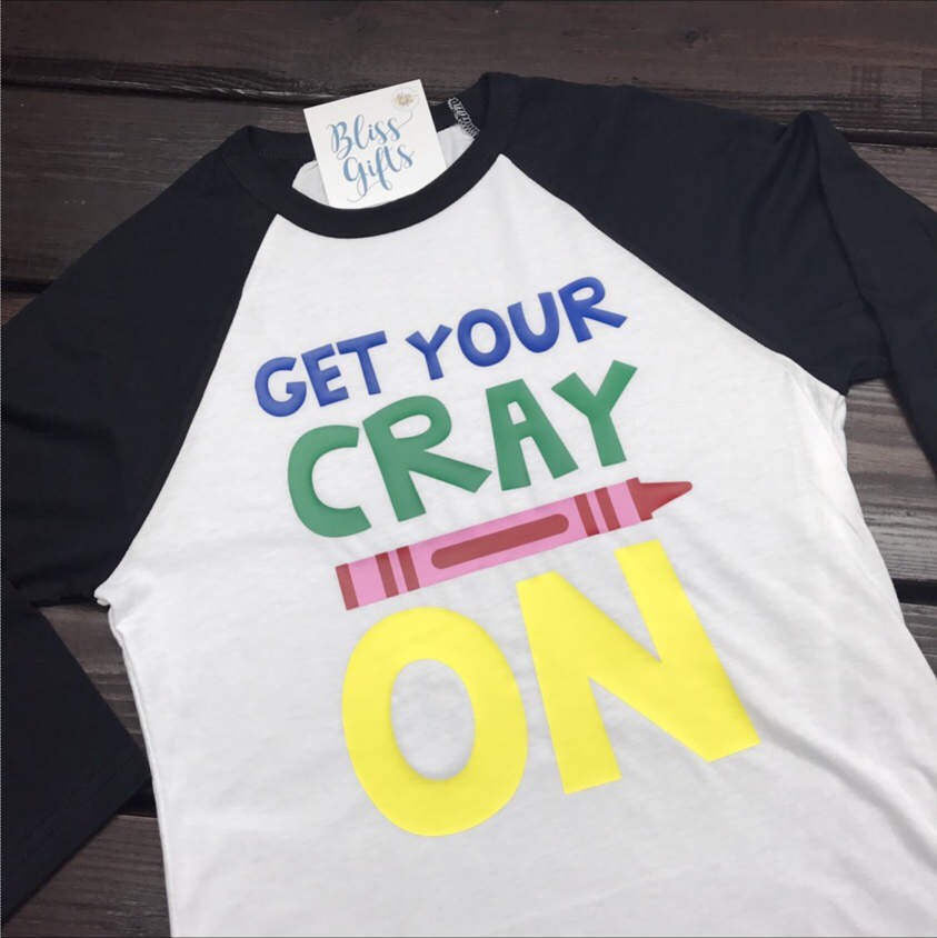 Funny Teacher Shirt | Custom Teacher Shirt | Gifts For Teacher Shirt | Teacher Tee | Teacher Gift | Teacher Present | Get Your Cray On