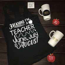 Funny Teacher Shirt | Custom Teacher Shirt | Gifts For Teacher Shirt | Teacher Tee | Teacher Gift | 3 Reason I'm A Teacher
