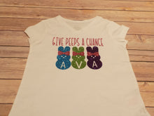 Give Peeps A Chance Personalized Easter Shirt