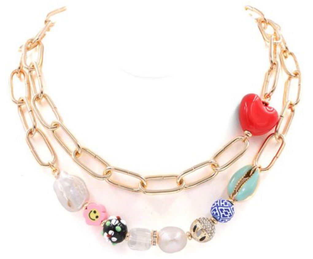 Stacey Pearl Necklace