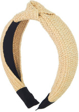 Straw Knot Headband