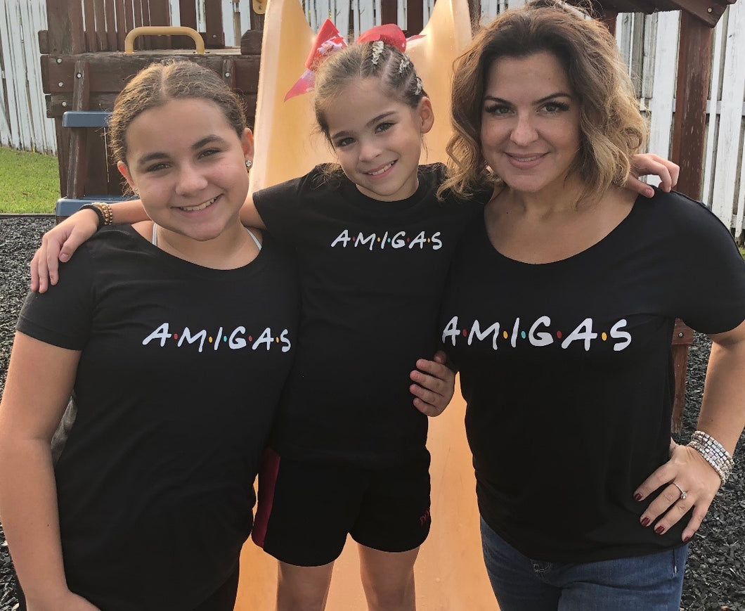 AMIGAS SHIRT ADULTS AND GIRLS