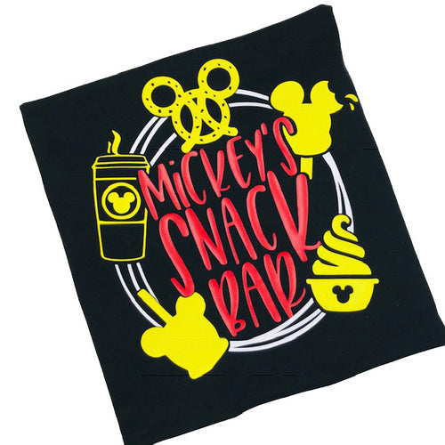 Mickey's Snack Bar Kid's Epcot Food and Wine Festival Shirt