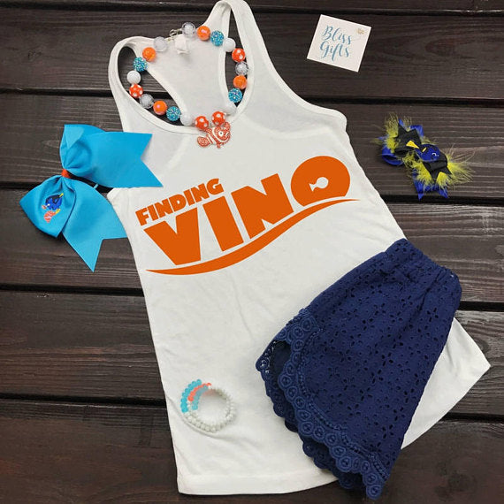 Funny Disney Shirt,Disney Food And Wine,Food And Wine Shirts, Epcot Food And Wine, Walt Disney World Shirts, Finding Nemo, Finding Vino