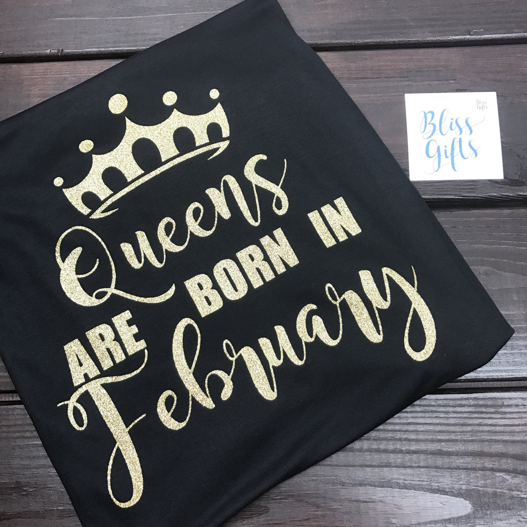 Queens are born in .... Pick the month!