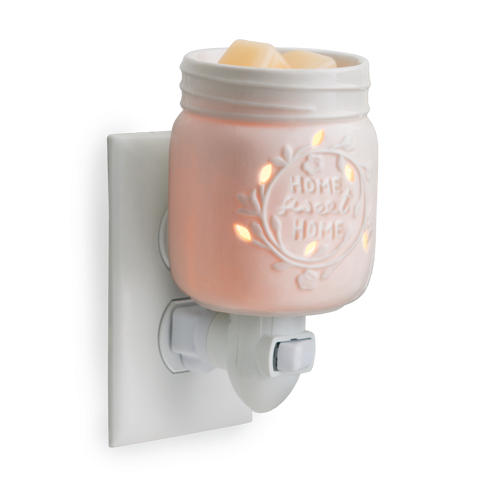 Mason Jar Pluggable Wax Warmer