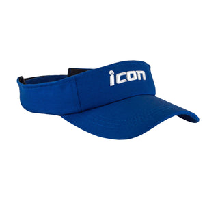 Unisex Performance Paddlesport Visor, Blue