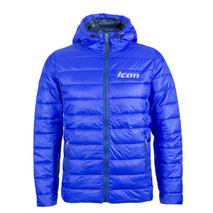 New! Men's ICON Embroidered Quilted Hooded 'Puffer' Jacket