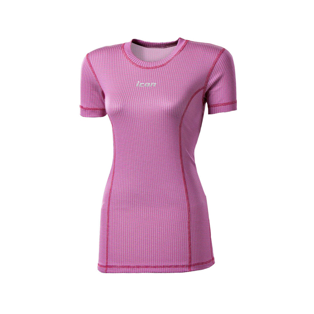 Women's Short Sleeve MicroSense Performance Base Layers
