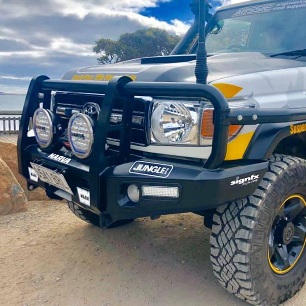 LC70 Jungle 4x4 Deluxe Bars / Steps / Side Rails