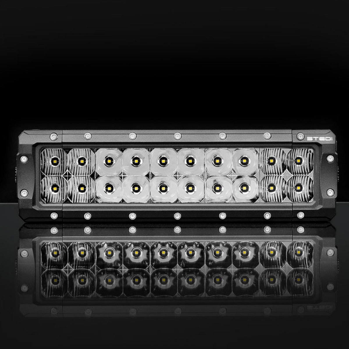 12 INCH ST4K 20 LED DOUBLE ROW LIGHT BAR