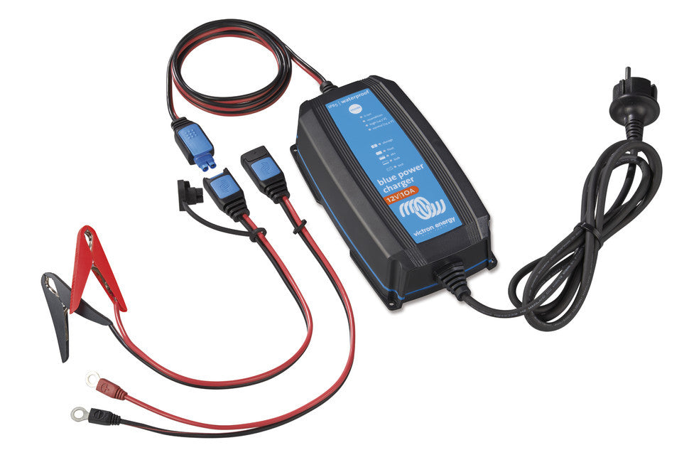 Victron Blue Power IP65 Charger with DC connector 12v 10A
