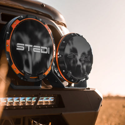 "STEDI TYPE-X SPORT 7"" LED DRIVING LIGHTS (PAIR)"