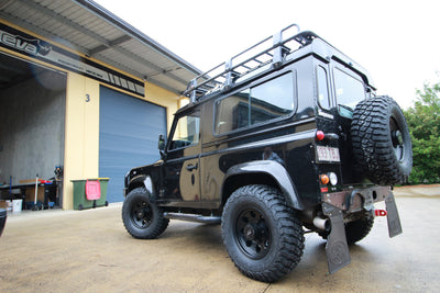 Land Rover 90 / 110 Rims and tyres