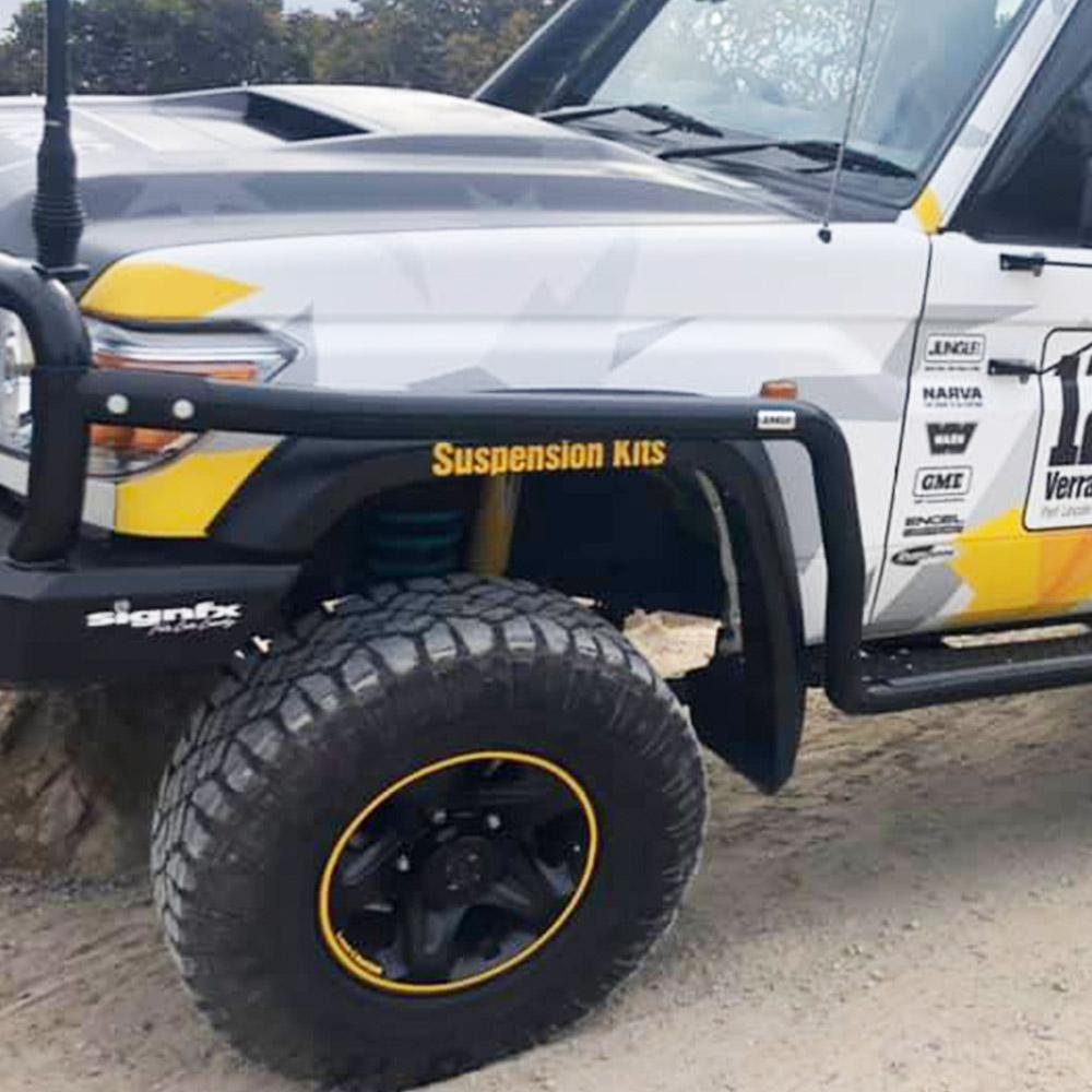 Jungle 4x4 SIDE RAILS LANDCRUISER 79 SERIES