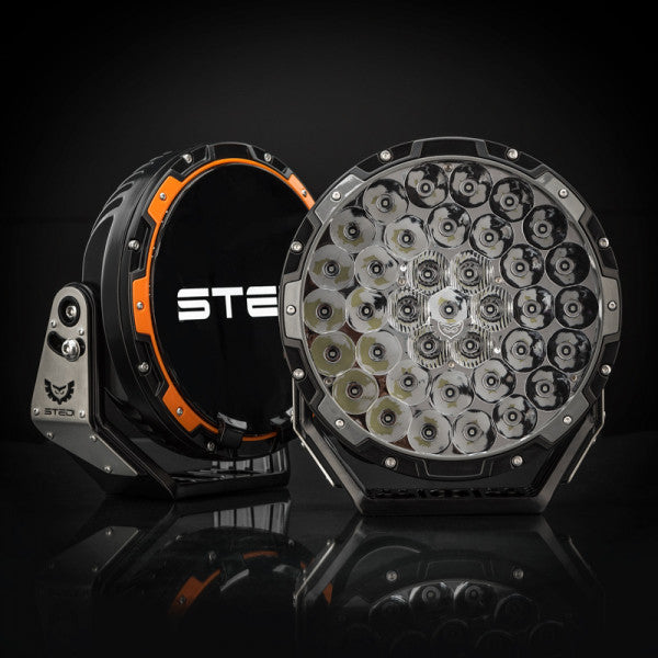"STEDI TYPE-X PRO 8.5"" LED DRIVING LIGHTS (PAIR)"