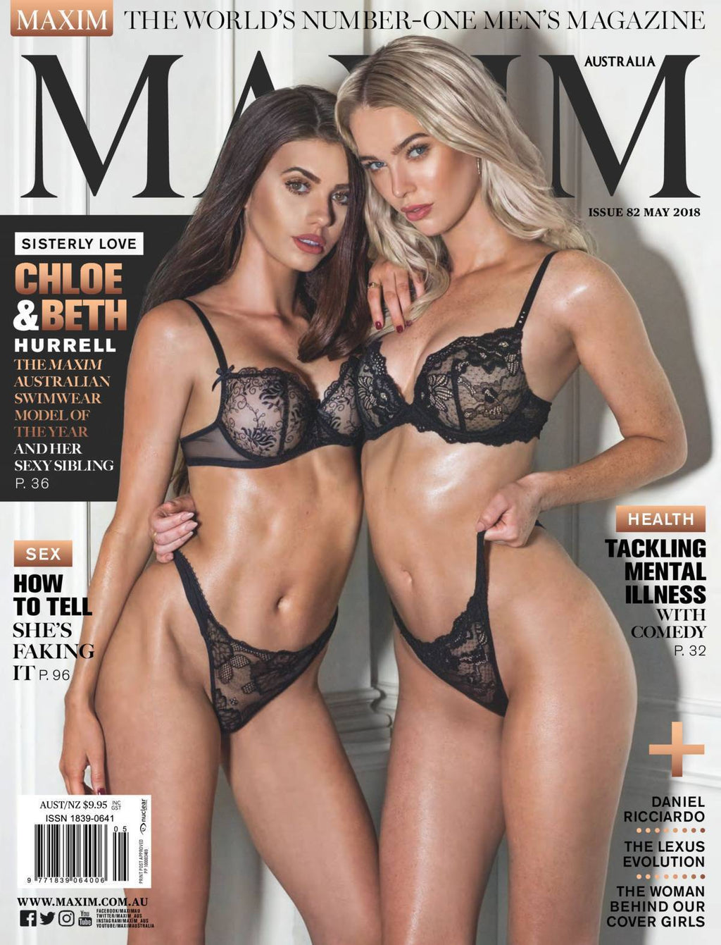 ff22b1534b1 Mary Holland Lingerie Featured in MAXIM Magazine Australia May 2018 – Mary  Holland Lingerie   Swimwear