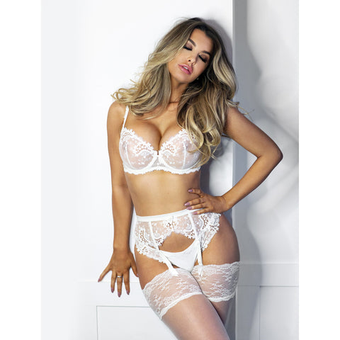 Wish Sheer Half Cup Ivory - As seen in MAXIM