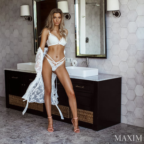 The Blonde Intimates Minx Bra with Removable Boost - As Seen in MAXIM