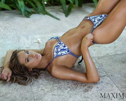 Wanderlust Love Bikini - As Seen in MAXIM