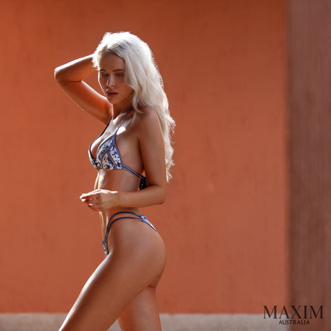 Now on Sale - Wanderlust Love Bikini - As Seen in MAXIM