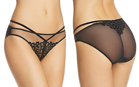 SALE - Black Dahlia Brief