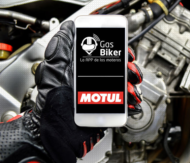 La app Gas Biker, indispensable.