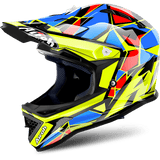 Casco AIROH JUNIOR Archer Chief Blue Gloss