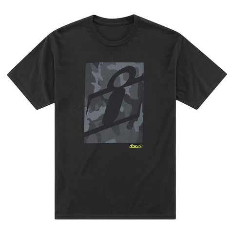 Camiseta ICON CLOAKING CAMO T-SHIRT BLACK
