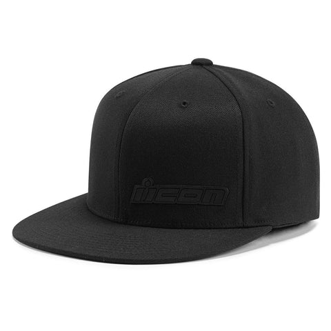 Gorra ICON FUSED FLAT BILL HAT BLACK