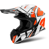 Casco AIROH Terminator Open Vision Shock Orange Gloss