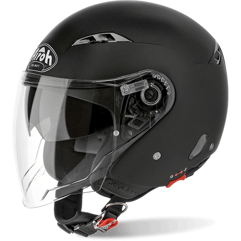 Casco AIROH URBAN JET City One Color Black Matt