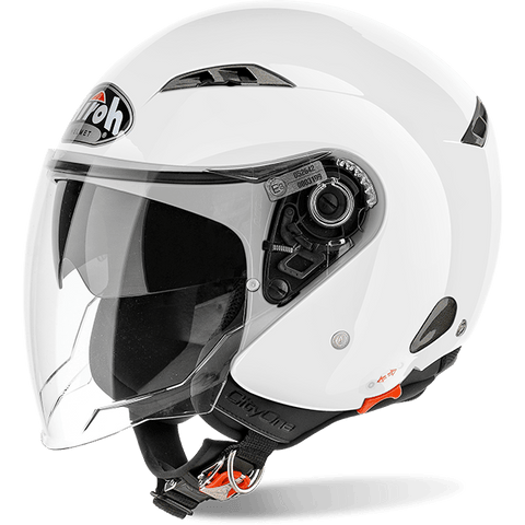 Casco AIROH URBAN JET City One Color White Gloss