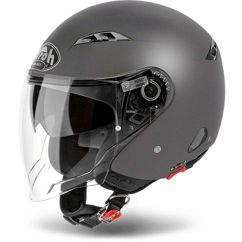 Casco AIROH URBAN JET City One Color Anthracite Matt