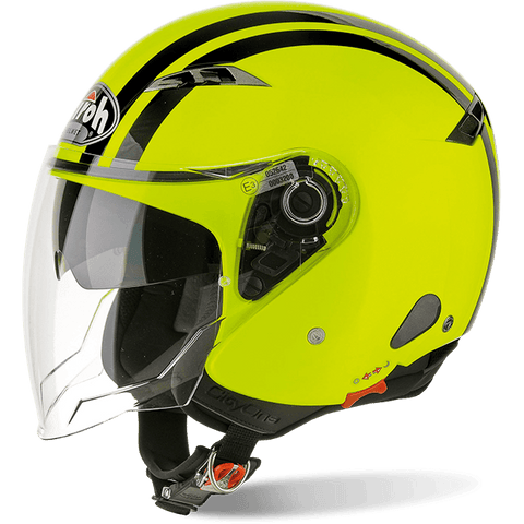 Casco AIROH URBAN JET City One Flash Yellow Gloss