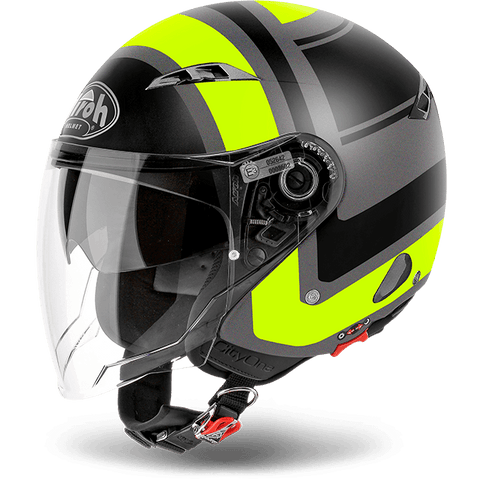 Casco AIROH URBAN JET City One Wrap  Yellow Matt
