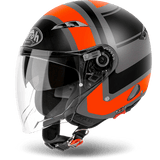 Casco AIROH URBAN JET City One Wrap Orange Matt