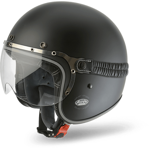 Casco AIROH URBAN JET Garage Color  Black Matt
