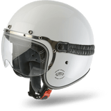 Casco AIROH URBAN JET Garage Color White Gloss