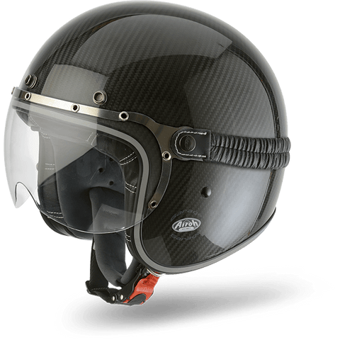 Casco AIROH URBAN JET Garage Carbon Gloss