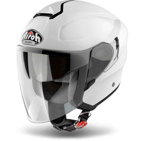 Casco AIROH URBAN JET Hunter Color  White Gloss