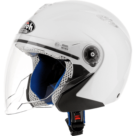 Casco AIROH JUNIOR Mr Jet  Cartoon Baby White Gloss