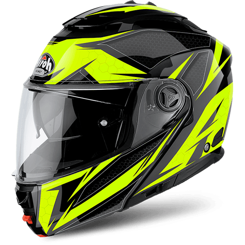 Casco AIROH PHANTOM S ENVOLVE YELLOW GLOSS