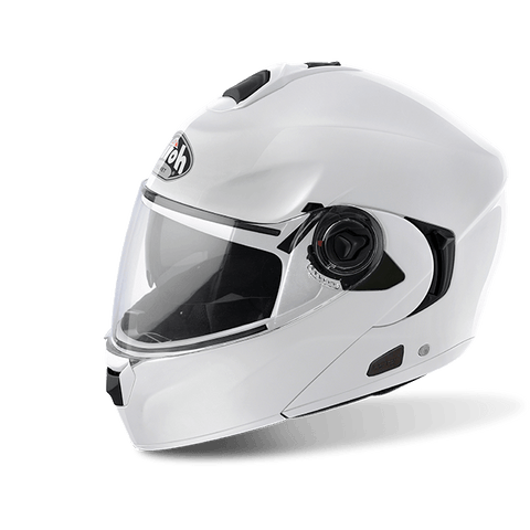 Casco AIROH RIDES COLOR WHITE GLOSS