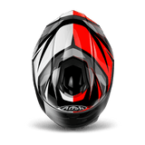 Casco AIROH ST 501 THUNDER RED GLOSS