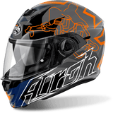 Casco AIROH STORM BIONIKLE ORANGE GLOSS