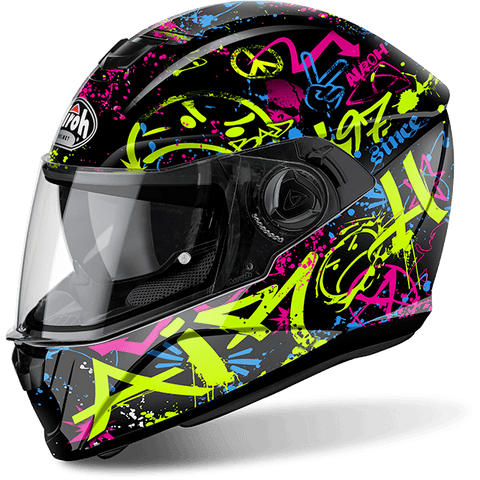 Casco AIROH STORM COOL BICOLOR  GLOSS