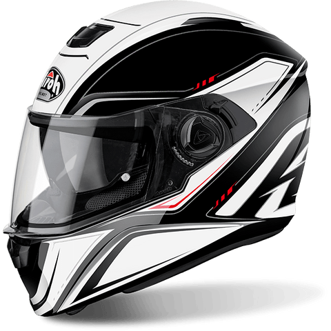 Casco AIROH STORM SPRINTER WHITE GLOSS