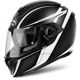 Casco AIROH STORM SHARPEN WHITE MATT