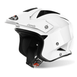 Casco AIROH Trr S  Wintage  Color White Gloss